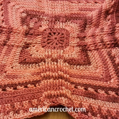 Rosewood Baby Blanket Part Three