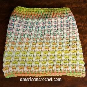 Magical Retro Christmas Stocking Part One   Crochet Pattern   American Crochet @americancrochet.com #crochetpattern #crochetalong
