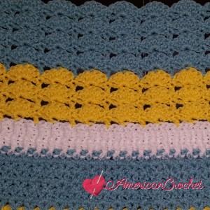 Winter Wonder Blanket Part Two | American Crochet @americancrochet.com #americancrochet #crochetalong