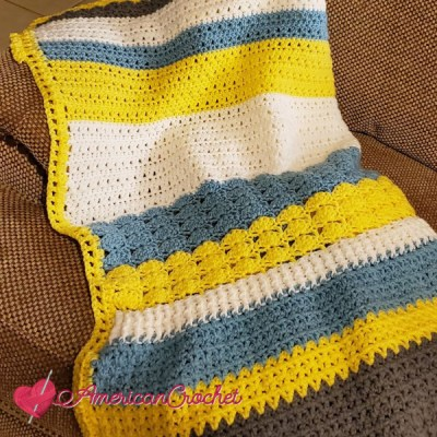 Winter Wonder Blanket Part Six