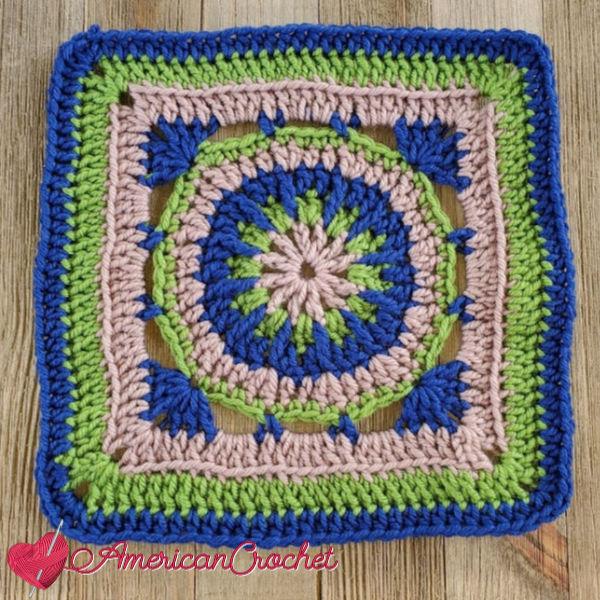 Fallbrook Square   American Crochet @americancrochet.com