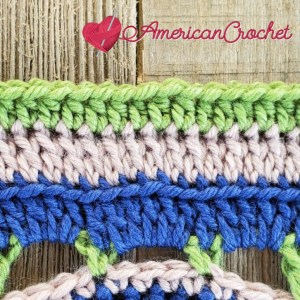 Stade Crossing | Crochet Pattern | American Crochet americancrochet.com #crochetalong