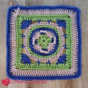 Fairchild Square | American Crochet @americancrochet.com