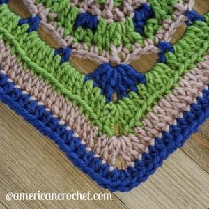 Faithful Square   Crochet Pattern   American Crochet @americancrochet.com
