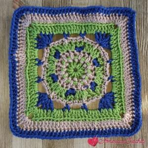 Faithful Square | Crochet Pattern | American Crochet @americancrochet.com