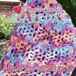 Scarf Day Bash | American Crochet @americancrochet #scarfdaybash