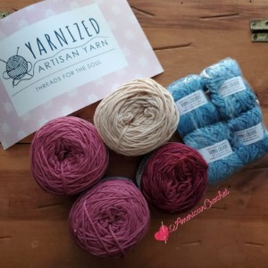 Unboxing: Yarnized Artisan Yarn   American Crochet @americancrochet.com