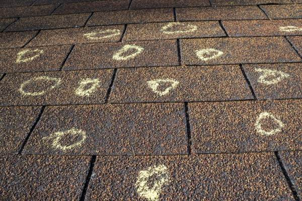 How To Identify Hail Damage On A Roof | American Dream ...