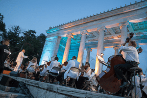 Rhode Island Philharmonic Orchestra in Roger Williams Park 1