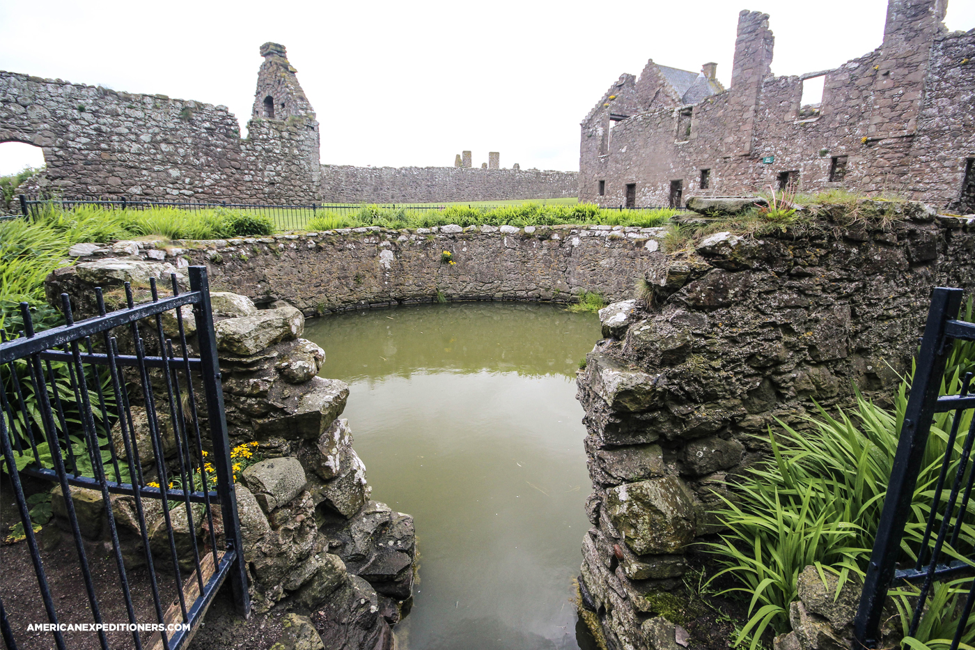 Image result for dunnottar castle inside