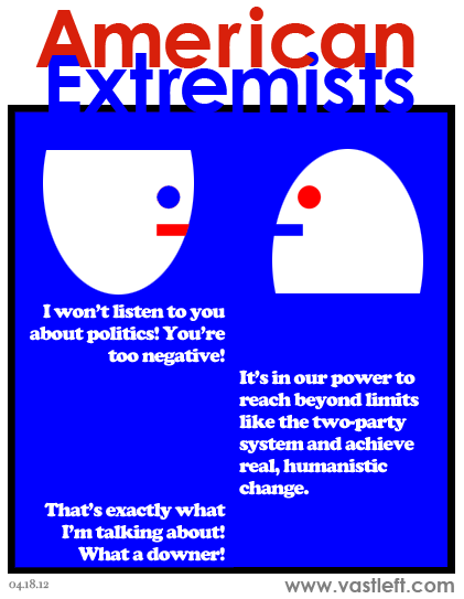 American Extremists - Positively negative