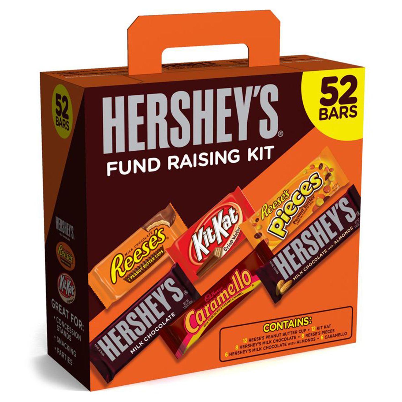 Hershey S Fund Raising Kit 52 Ct