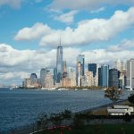 view from governors island