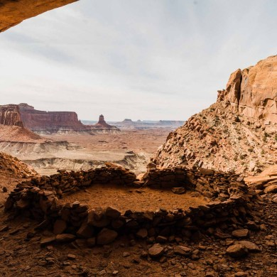 a view of canyonlands national park