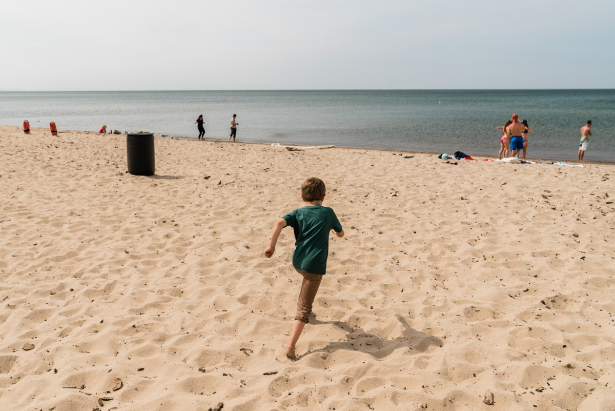 west beach in indiana dunes national park