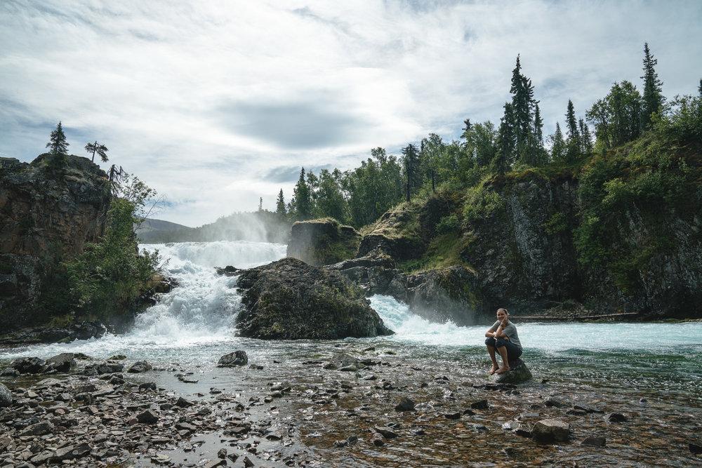 Tanalian Falls.