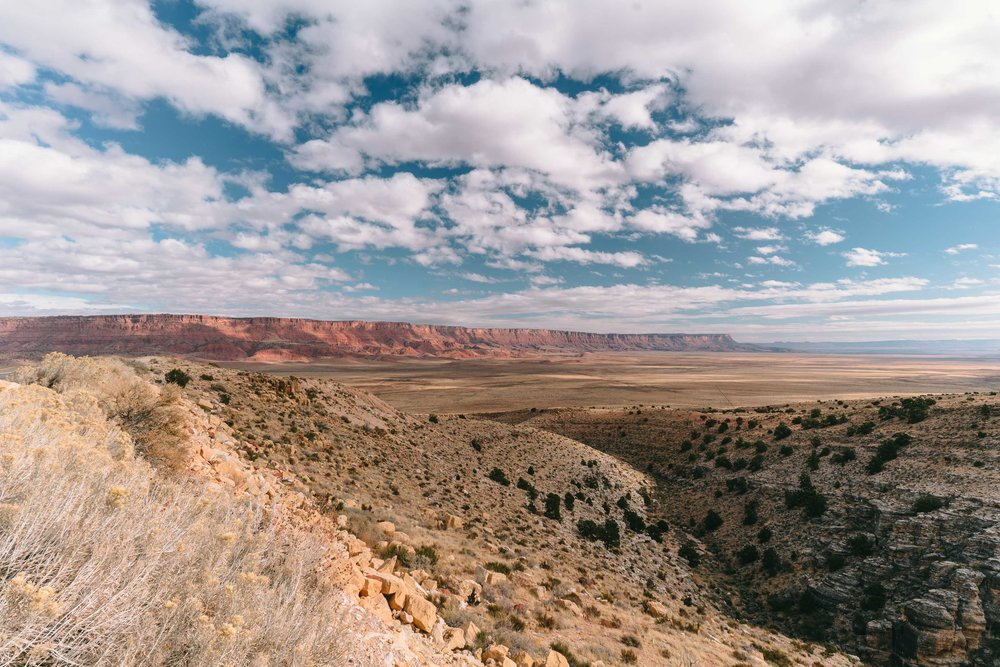 Vermillion Cliffs, on the way to the Grand Canyon