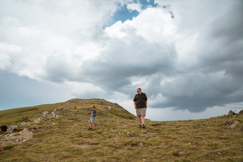 Exploring with Grandpa