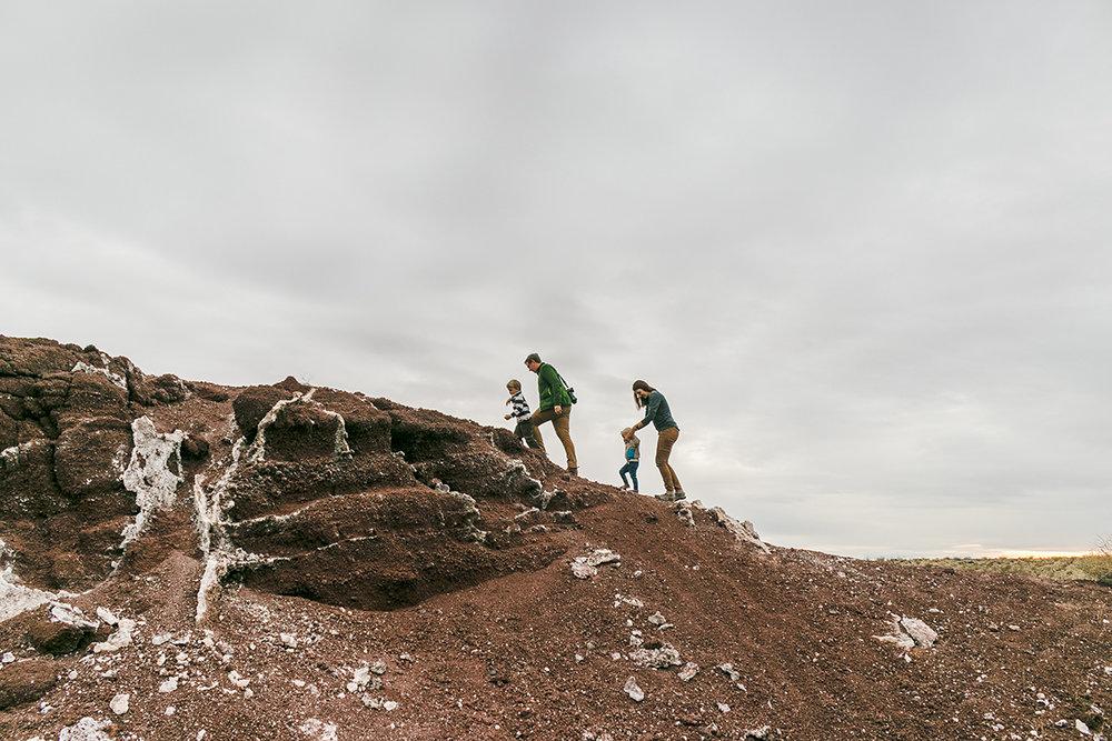 West Cinder Knoll Trail