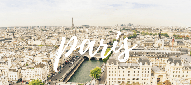 first trip to Paris