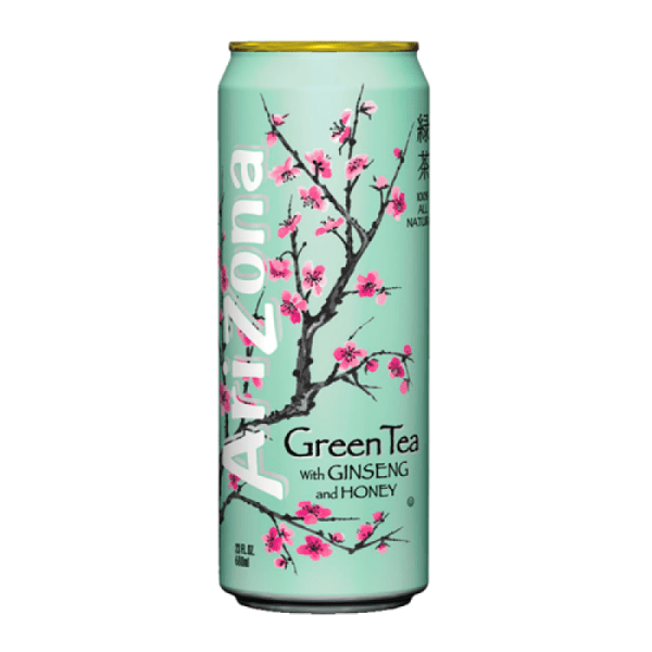 AriZona Green Tea with Ginseng and Honey 23oz 680ml