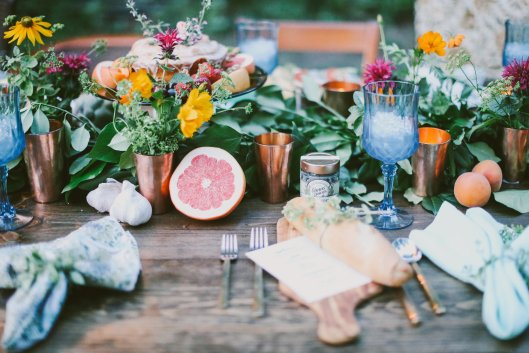 Parie Design's all-American and local backyard farm-to-table dinner (c) Mallory Morgan Creative