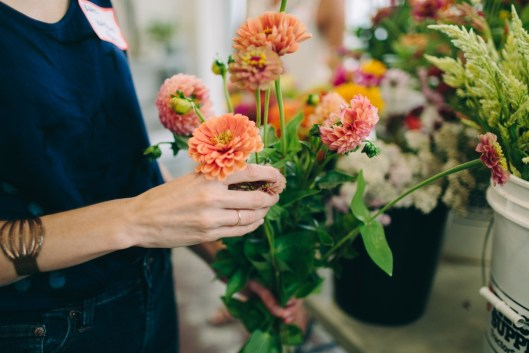 Sensory overload in a good way: Touch, smell, see local blooms (c) Angela Zion