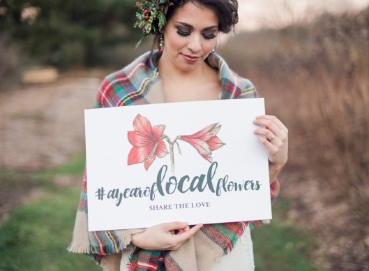 Kelly started the #ayearoflocalflowers social media hash-tag and you can find her on Instagram @ayearoflocalflowers