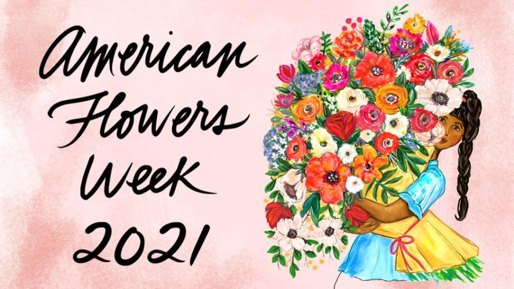 american flowers week 2021