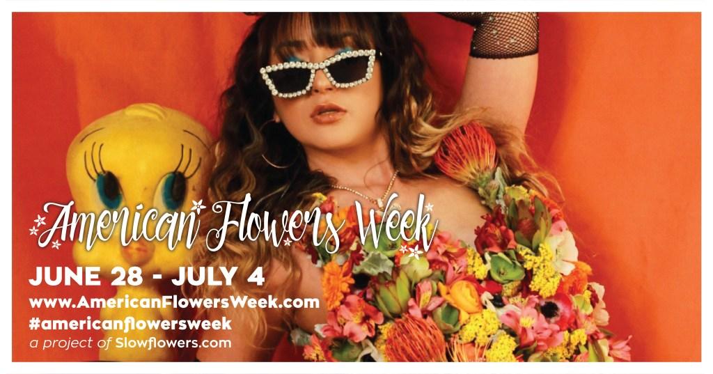 American Flowers Week 2021 with Fetching Social