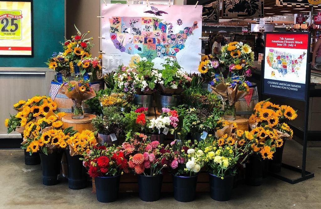 T&C Markets American Flowers Week