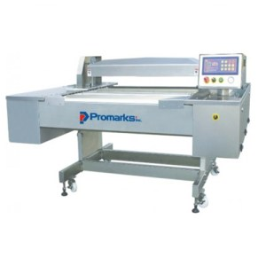 Promarks MODEL CV-1200 CONTINUOUS VACUUM PACKAGING MACHINE