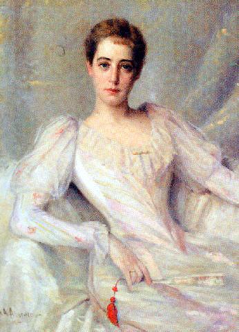 Portrait of Louise van Beuren Bond