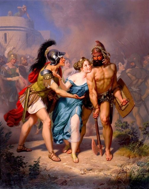 The Rape Of The Sabines - The Invasion