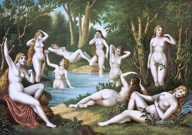 Female Bathers