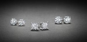 Diamond stud earrings for her from Ritani