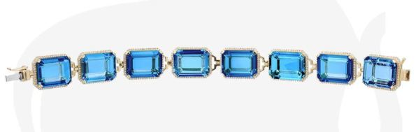 Goshwara - London Blue Topaz