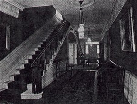 Interior Stairway inside of Phelps Mansion
