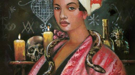 MARIE LAVEAU ,VOODOO QUEEN OF NEW ORLEANS ,Marie Catherine Laveau (September 10,