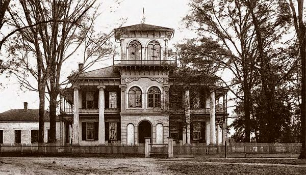 Old Drish Plantation Mansion, Monroe Place