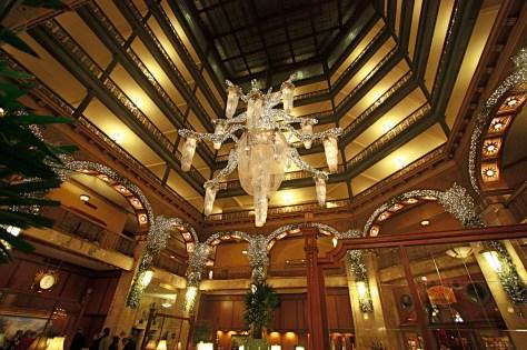 Atrium Interior of Brown Palace