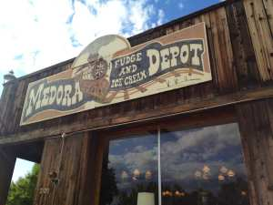 Medora haunted ice cream and fudge parlor