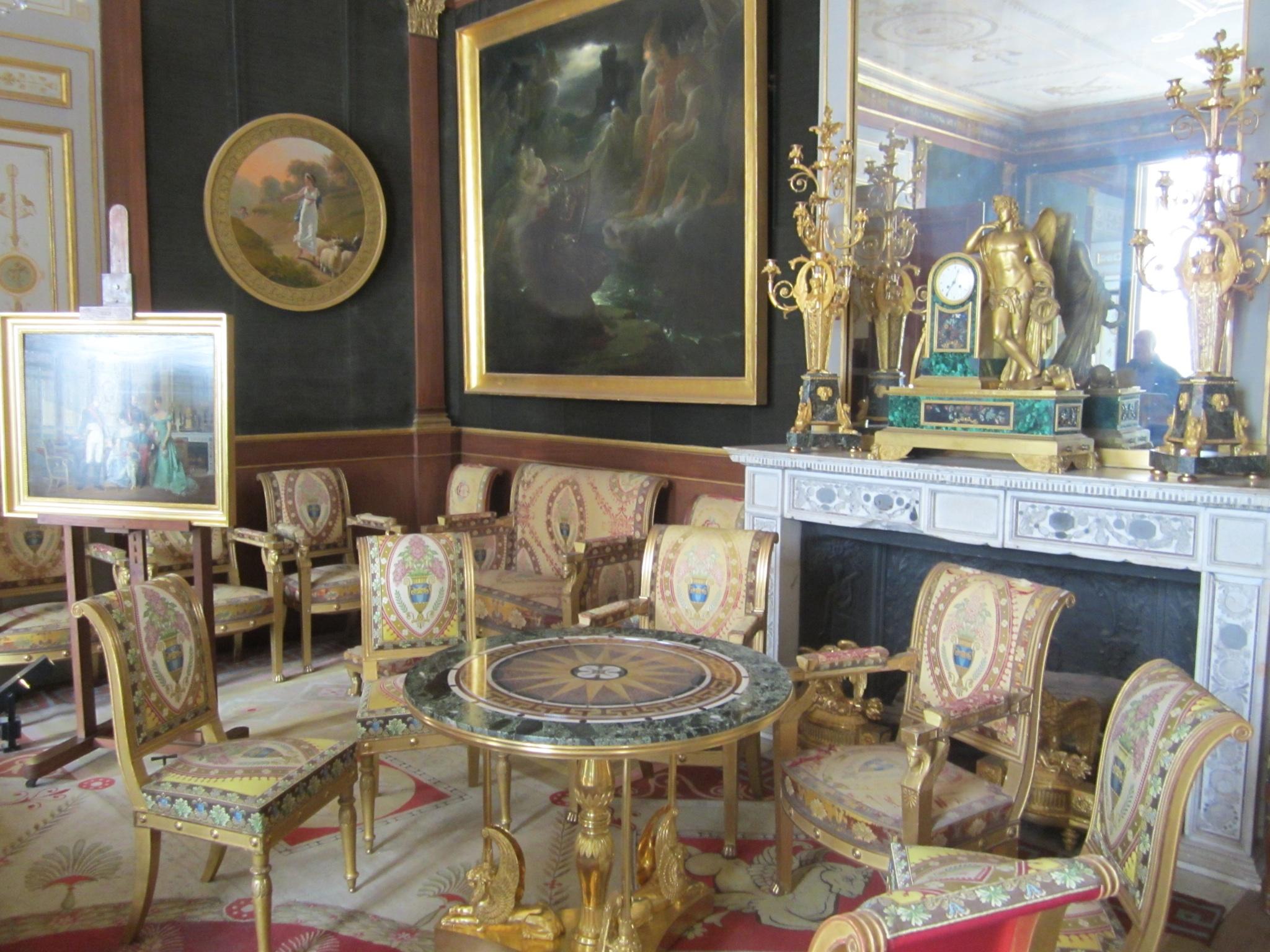Chateau De Malmaison American Girls Art Club In Paris