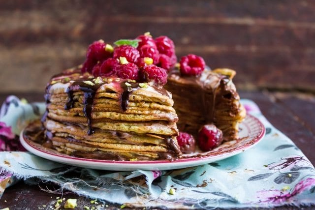 Griddle Recipes from American Griddle- Old-Fashioned Pancakes