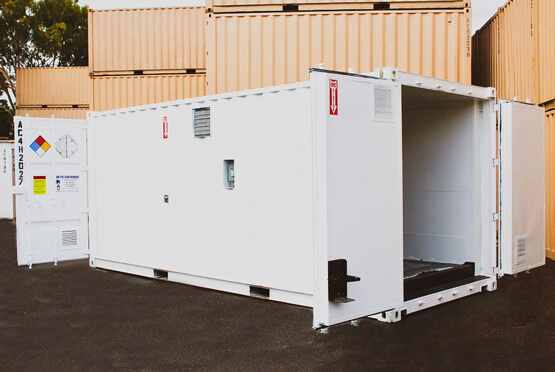 20 x 8 4-hour rated Double Door container rentals-2