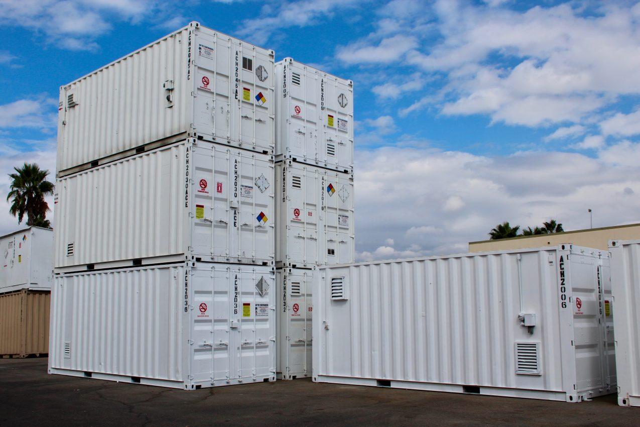 chemical storage rentals