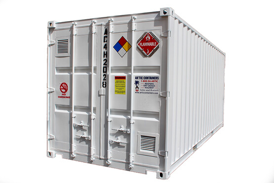 Hazardous and Chemical Storage Container