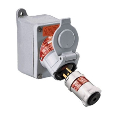 Hazmat Locker Accessories - explosion proof outlets