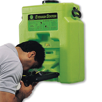 Hazmat Locker Accessories - eyewash stations