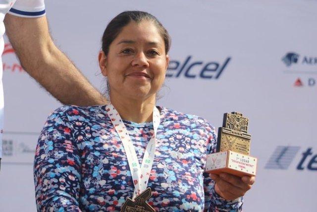 Quiénes fueron los primeros mexicanos en cruzar la meta en el Maratón de la CDMX